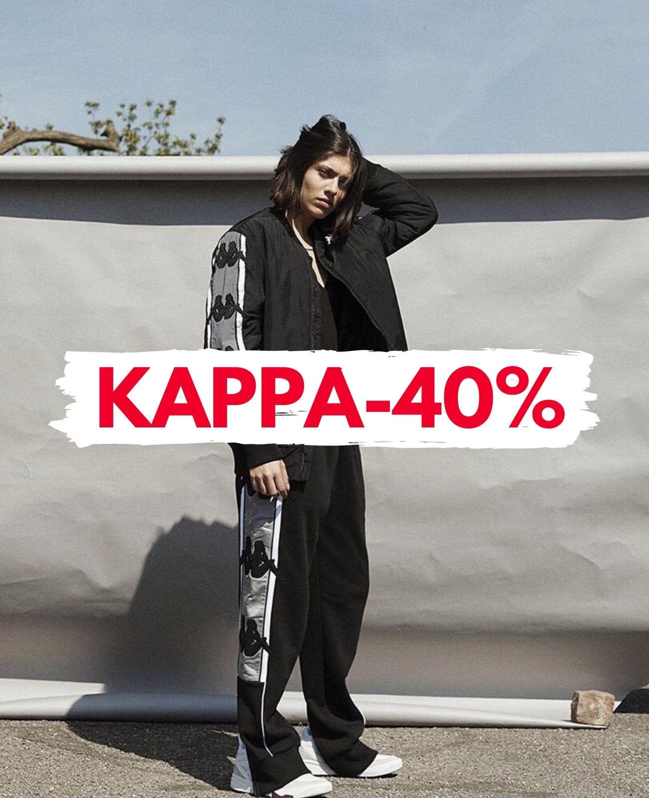 Kappa Streetwear | Saldi invernali | Spedizione gratis