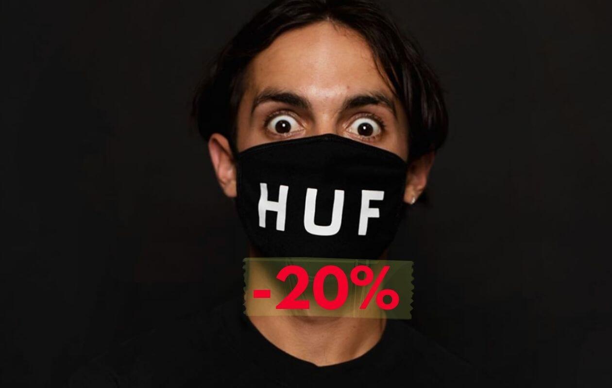 Huf - Approfitta dei saldi invernali SCONTO 20%
